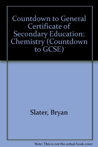 9780333418574: Countdown to General Certificate of Secondary Education: Chemistry (Countdown to GCSE)