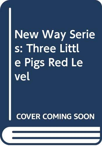 9780333418666: New Way Series: Three Little Pigs Red Level