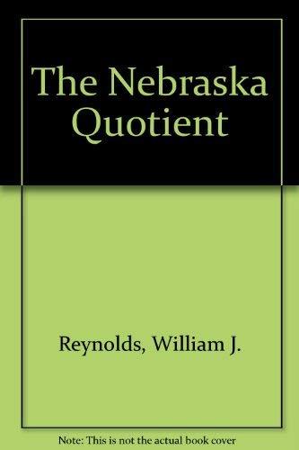 9780333419120: The Nebraska Quotient