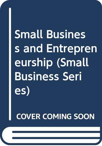 9780333420966: Small Business and Entrepreneurship