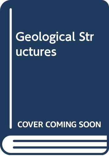 9780333421499: Geological Structures