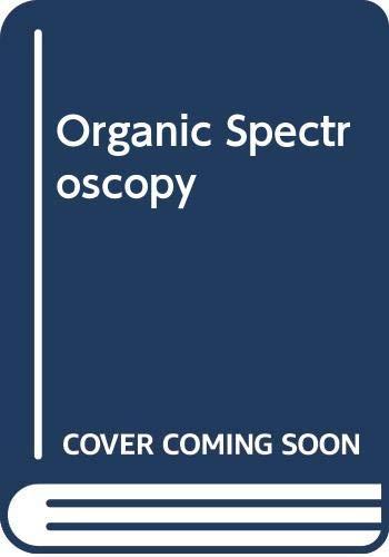 9780333421710: Organic Spectroscopy