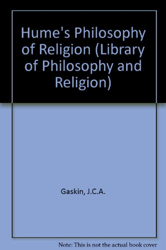9780333423295: Hume's Philosophy of Religion