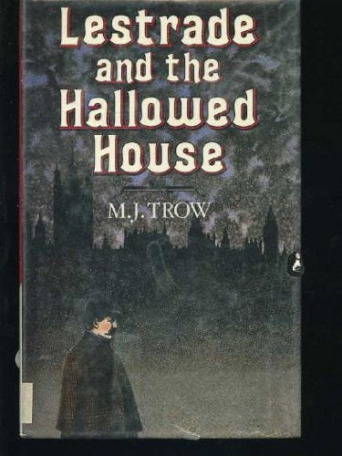 Lestrade and the Hallowed House SIGNED COPY