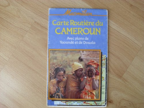 9780333426739: Cameroon Road Map (Macmillan traveller's maps) (English and French Edition)