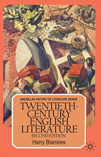 9780333428108: Twentieth-Century English Literature (Macmillan History of Literature)