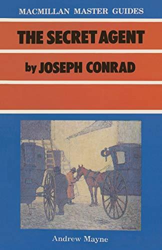 9780333432754: The Secret Agent by Joseph Conrad (Palgrave Master Guides)