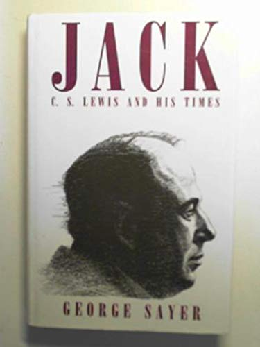 9780333433621: Jack: C.S.Lewis and His Times