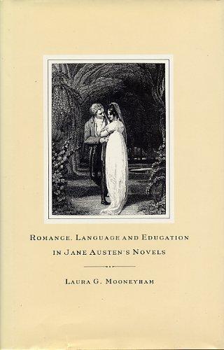 9780333434321: Romance, Language and Education in Jane Austen's Novels