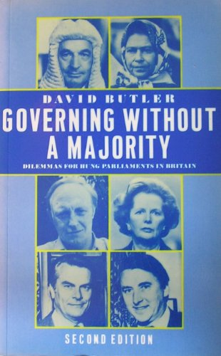 9780333434895: Governing without a Majority