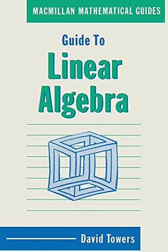 9780333436271: Guide to Linear Algebra (Mathematical Guides)