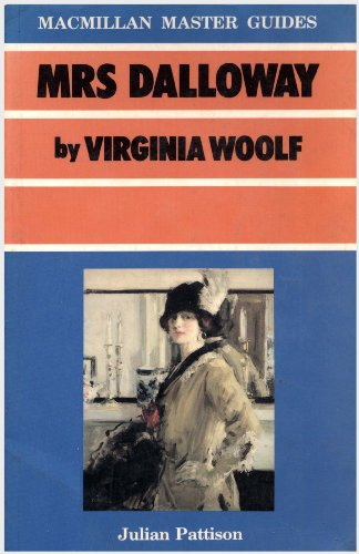 9780333437018: Mrs. Dalloway by Virginia Woolf (Master Guides)