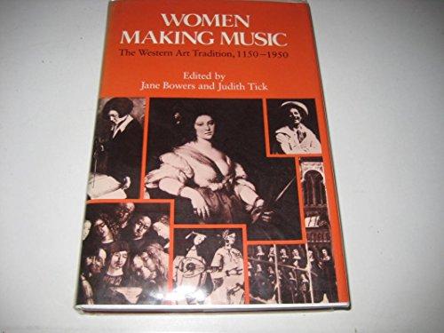 9780333437360: Women Making Music: Western Art Tradition, 1150-1950