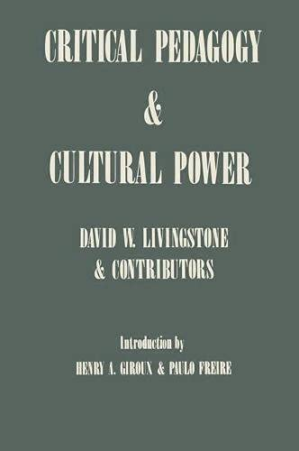 9780333439357: Critical Pedagogy and Cultural Power