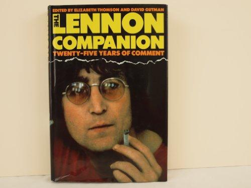 9780333439630: The Lennon Companion: Twenty-Five Years of Comment