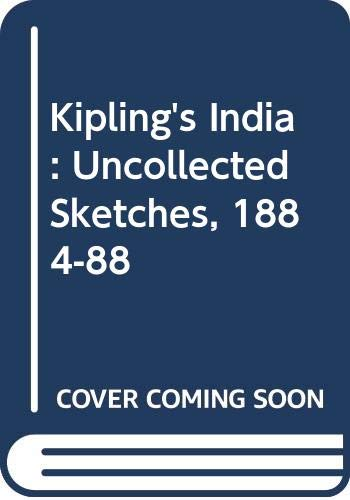 9780333439777: Kipling's India: Uncollected Sketches 1884-88