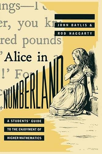 9780333442425: Alice in Numberland: A Students' Guide to the Enjoyment of Higher Mathematics