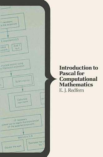 9780333444313: Introduction to Pascal for Computational Mathematics
