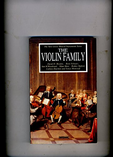 9780333444528: Violin Family (The New Grove musical instruments series)
