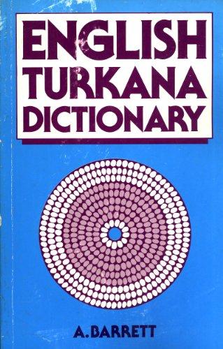 9780333445778: English-Turkana Dictionary