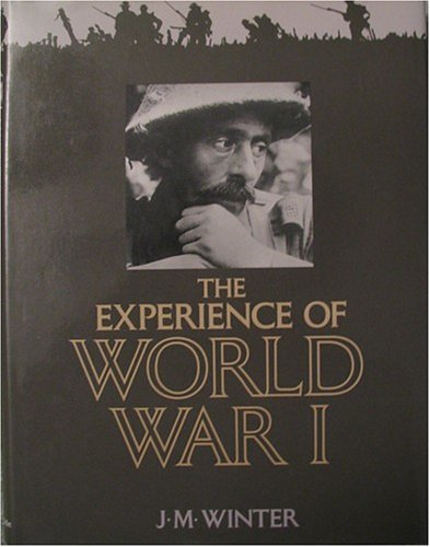 9780333446133: The Experience of World War I