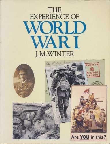 9780333446140: The Experience of World War I