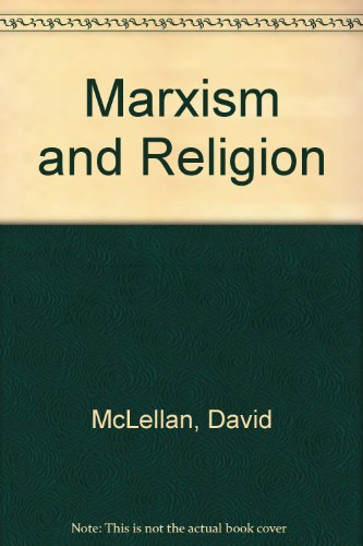 9780333446294: Marxism and Religion