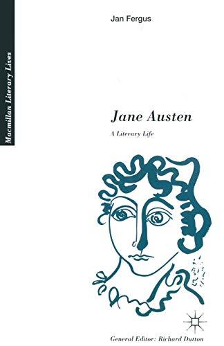 9780333447017: Jane Austen: A Literary Life (Literary Lives)
