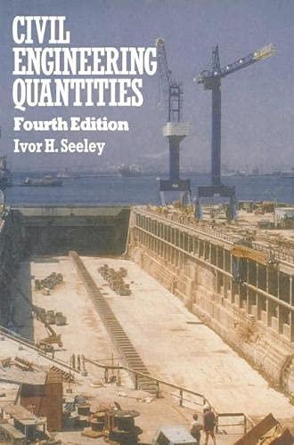 9780333447116: Civil Engineering Quantities (Macmillan Building and Surveying Series) (Building & Surveying)