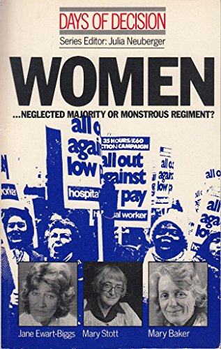 9780333447697: Days of Decision: Women