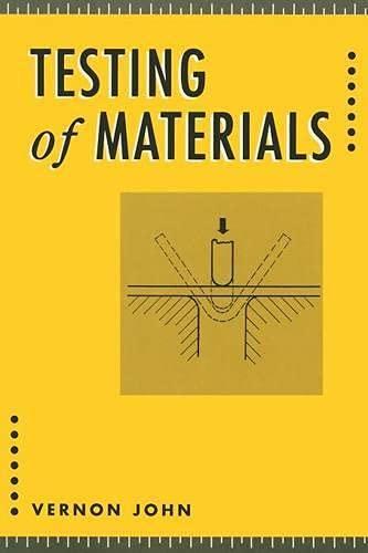 9780333447833: Testing of Materials