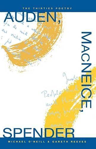 9780333451182: Auden, MacNeice, Spender: The Thirties Poetry