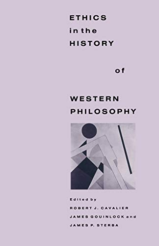 9780333452448: Ethics in the History of Western Philosophy