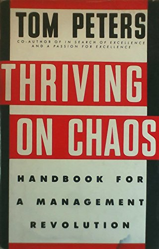 9780333454275: Thriving on Chaos: Handbook for a Management Revolution