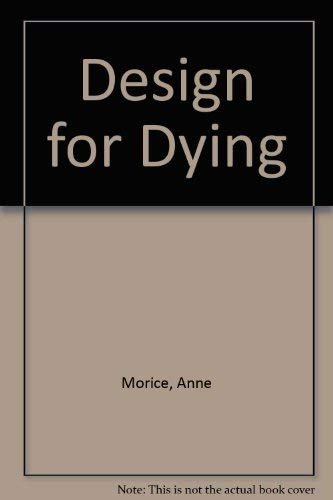 9780333455456: Design for Dying