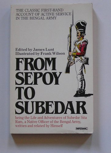 9780333456729: From Sepoy to Subedar