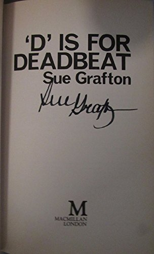 D is for Deadbeat: Grafton, Sue
