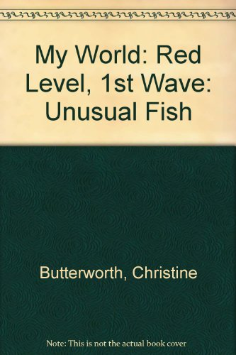 9780333460153: My World: Red Level, 1st Wave: Unusual Fish