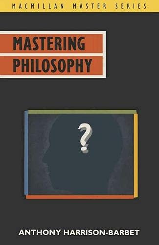 9780333461150: Mastering Philosophy (Macmillan Master)
