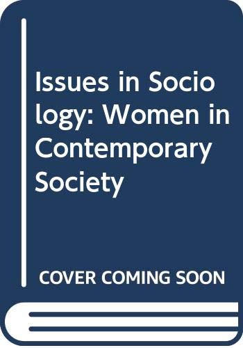 9780333461310: Issues in Sociology: Women in Contemporary Society