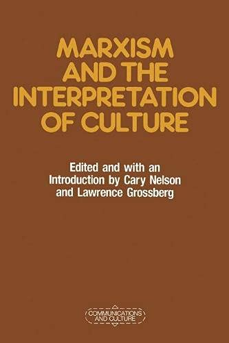 9780333462768: Marxism and the Interpretation of Culture (Communications & culture)