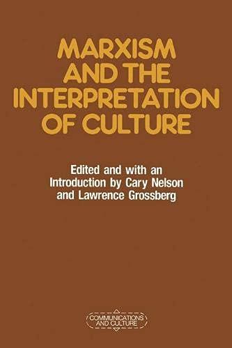 9780333462768: Marxism and the Interpretation of Culture