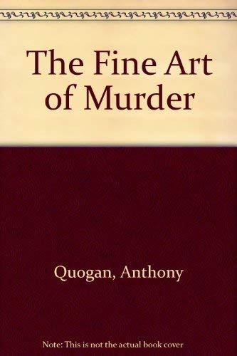 9780333463246: The Fine Art of Murder