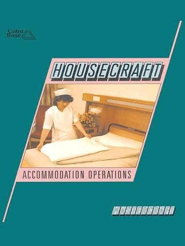 9780333463406: Housecraft: Accommodation Operations (HCTC Macmillan: published in conjunction with the H otel & Catering Training Company)