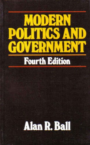 9780333464137: Modern Politics and Government