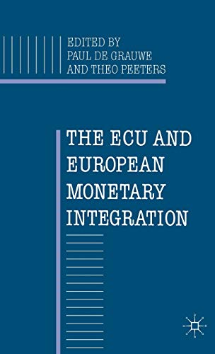 9780333464427: The Ecu and European Monetary Integration