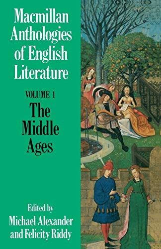 9780333464762: The Middle Ages (Anthologies of English Literature) (Vol 1)
