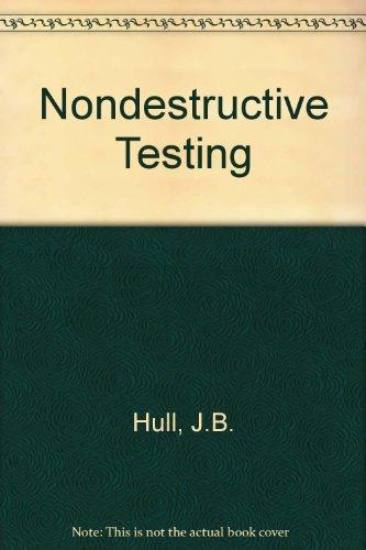 9780333465615: Non Destructive Testing