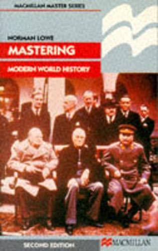 9780333465769: Mastering Modern World History