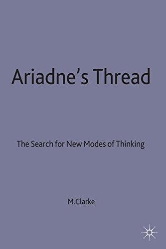 9780333465998: Ariadne's Thread: The Search for New Modes of Thinking